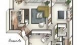 Property Rent a flat in Phoenix, Arizona (ASDB-T44723)