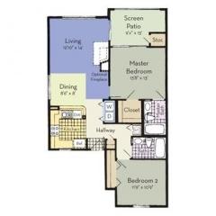 Property Rent a flat in Saint Petersburg, Florida (ASDB-T41799)