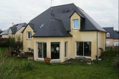 Property Dpt Mayenne (53), à vendre proche LAVAL maison P5 de 156 m² - Terrain de 663 m² - plain pied (KDJH-T221964)