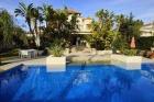 Property Villa for rent in Las Chapas, Marbella, Málaga, Spain (OLGR-T919)