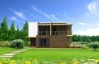 Property Maison en bois contemporaine